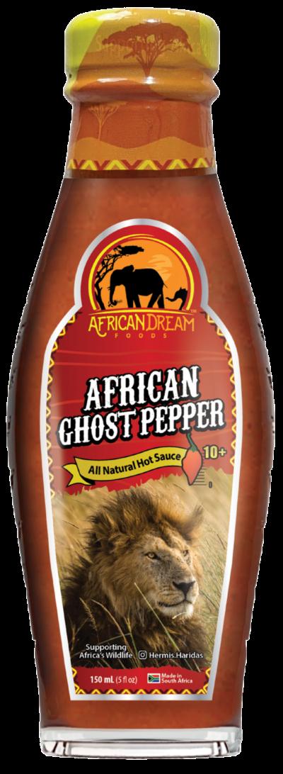 African Ghost Pepper Hot sauce
