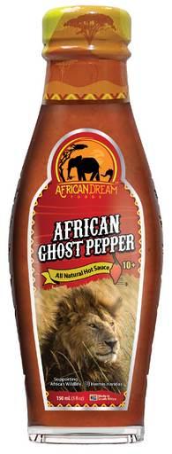 African Ghost Pepper Sauce