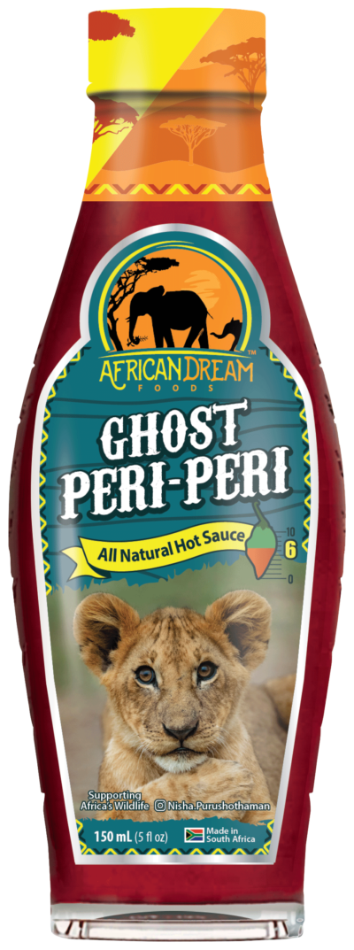 Ghost Peri Peri Sauce-African Dream Foods