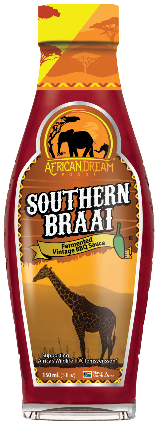 21-010 Southern Braai (Chilli BBQ Sauce) 210 – FRONT MOCK UP WS