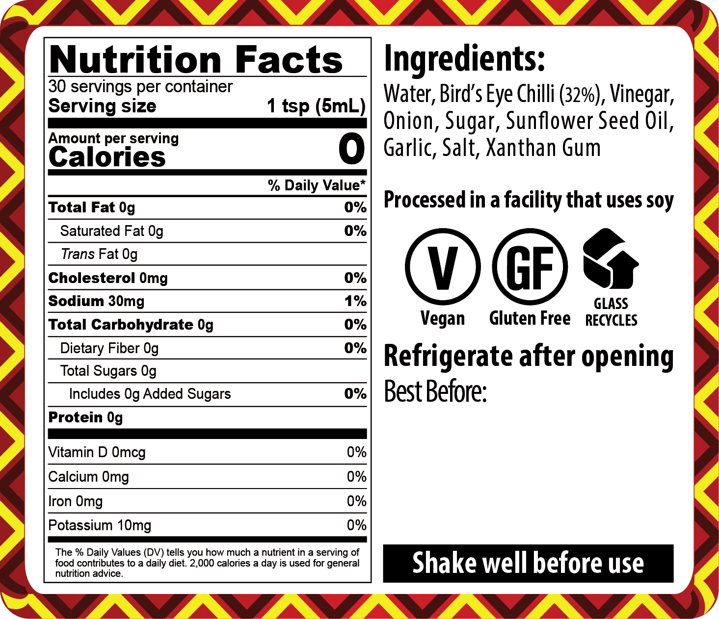 FINAL – 21-008 Bird_s Eye Chilli 710_NUTRITION LABEL