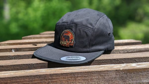 Black Safari Cap