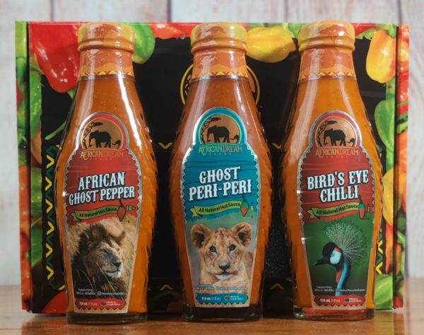 African hot sauce variety pack