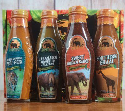 Mildest hot sauce 4 pack